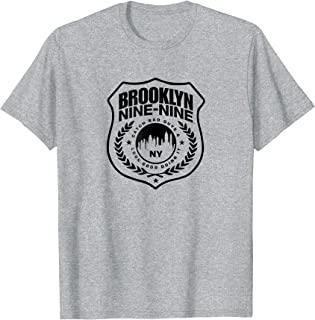 Brooklyn Nine-Nine Badge Standard Short Sleeve T-Shirt