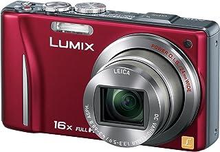 パナソニック デジタルカメラ LUMIX TZ20 レッド DMC-TZ20-R