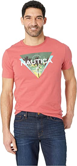 Short Sleeve Triangle Print Tee