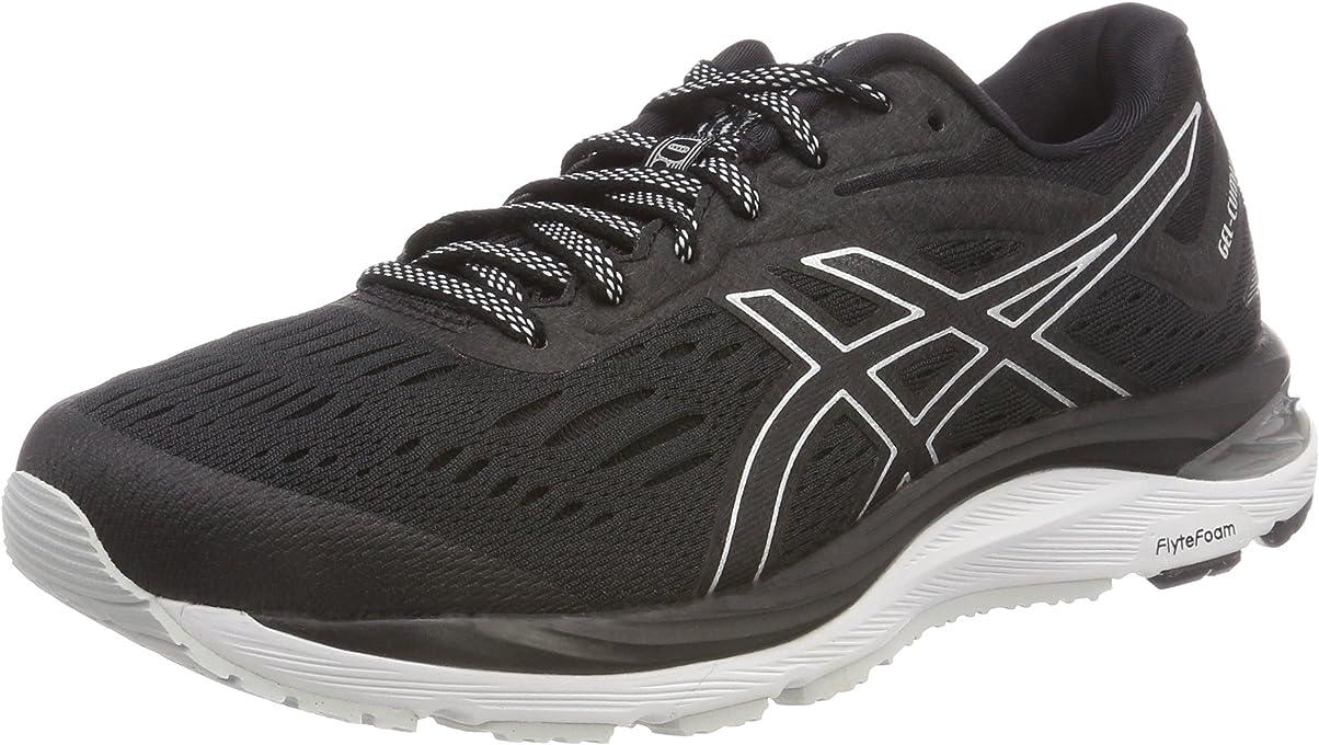 ASICS Men's Gel-Cumulus 20 Running Shoes, Black (Black/White),10.5 US,44 1/2 EU