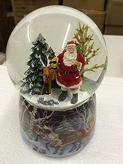 Best santa and reindeer snow globe Reviews