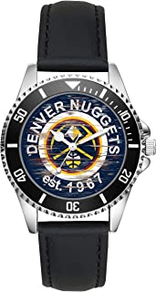 Gift for Denver Nuggets NBA Basketball Fan Article Watch L-4566