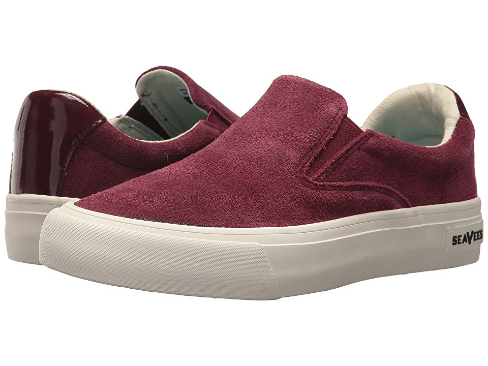 SeaVees Hawthorne Slip-On Wintertide (Wine) Women