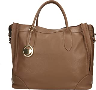 Chicca Borse Bag Borsa a Mano in Pelle Made in Italy 37x30x15 cm