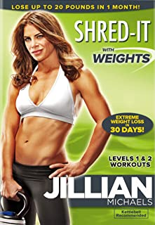 jillian shred it with weights