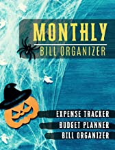 Monthly Bill Organizer: Paycheck Bill Planer with income list,Weekly expense tracker ,Bill Planner, Financial Planning Journal Expense Tracker Bill ... design (Financial Planner Budget Book)