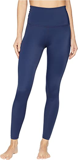 Compression High-Waisted Midi Leggings