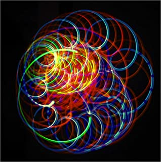 Rob's Super Happy Fun Store LED Spinning Orbit Rave Light Show - Amber Bliss Orbital