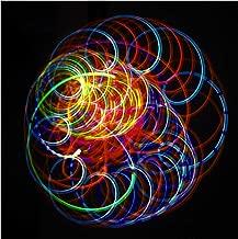 Rob's Super Happy Fun Store LED Spinning Orbit Rave Light Show - Amber Bliss Orbital