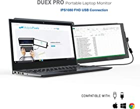 Mobile Pixels Duex Pro Portable Dual Monitor for Laptops, 12.5