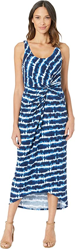 aa363b2f615 Island Navy. 38. Tommy Bahama. Oliana Stripe Maxi Dress