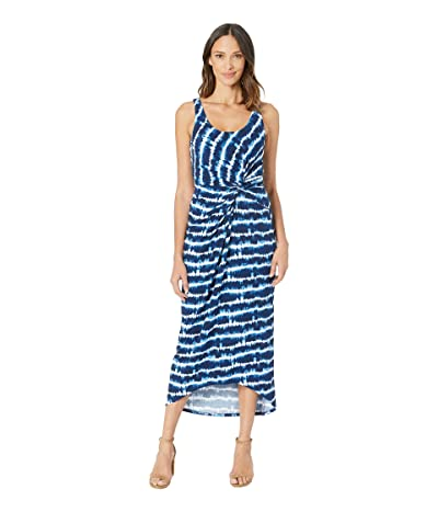 Tommy Bahama Oliana Stripe Maxi Dress (Island Navy) Women