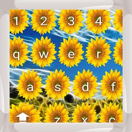 Sonnenblumen Tastaturen
