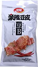 卫龙 亲嘴豆皮 豆B 川香麻辣 Wei Long Kiss Burn snack Tofu slices spicy Flavored 65g (3 packs)