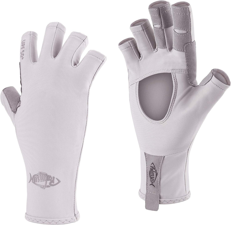 Palmyth Year-end gift UV Protection Fishing Fingerless Sun Tulsa Mall Gloves Glove UPF50+