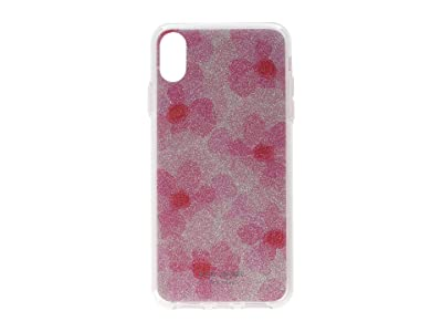 Kate Spade New York Glitter Abstract Peony Phone Case for iPhone XS Max (Pink Multi) Cell Phone Case