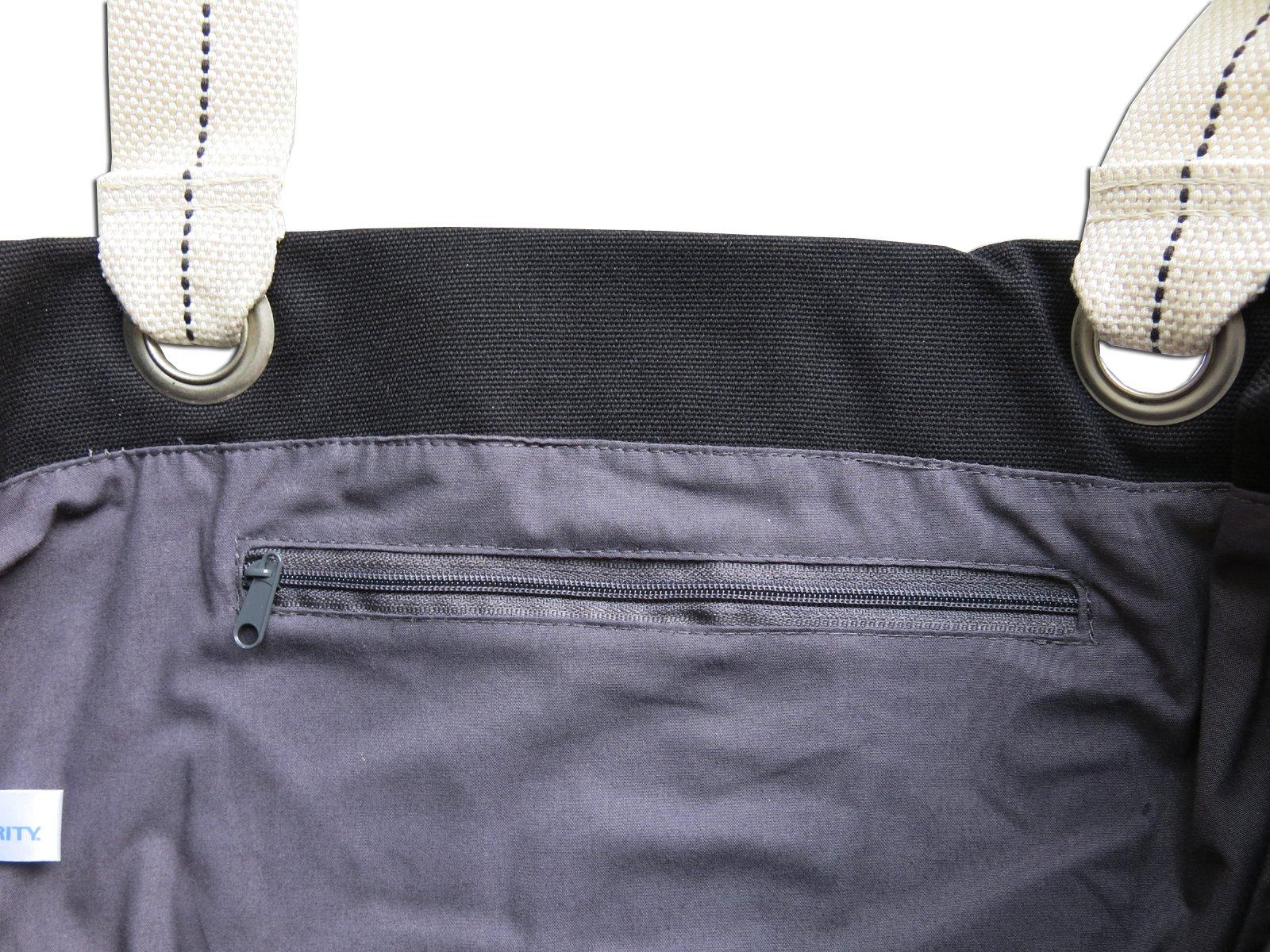 Universidad de Nebraska Camisas Negras bolsa bolsas de lona de algodón ricos Nebraska Camisas Negras Negro: Amazon.es: Deportes y aire libre