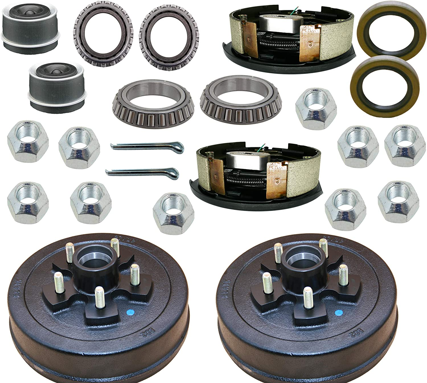 """M-parts Max 81% OFF 99-545KITB Trailer Drum Kits 4.5"""" on with 10†5 Miami Mall"""