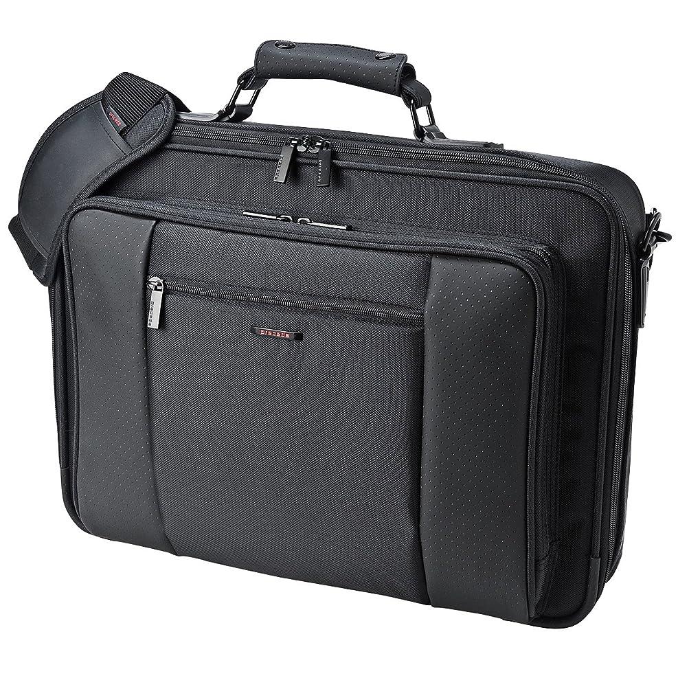 クローン数値既婚サンワサプライ スマートビジネスバッグ 鍵付き 17.3インチワイド対応 BAG-PR7N