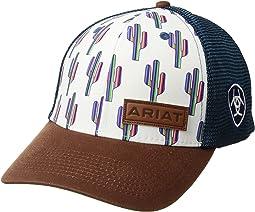 Multi Cactus Snapback Cap