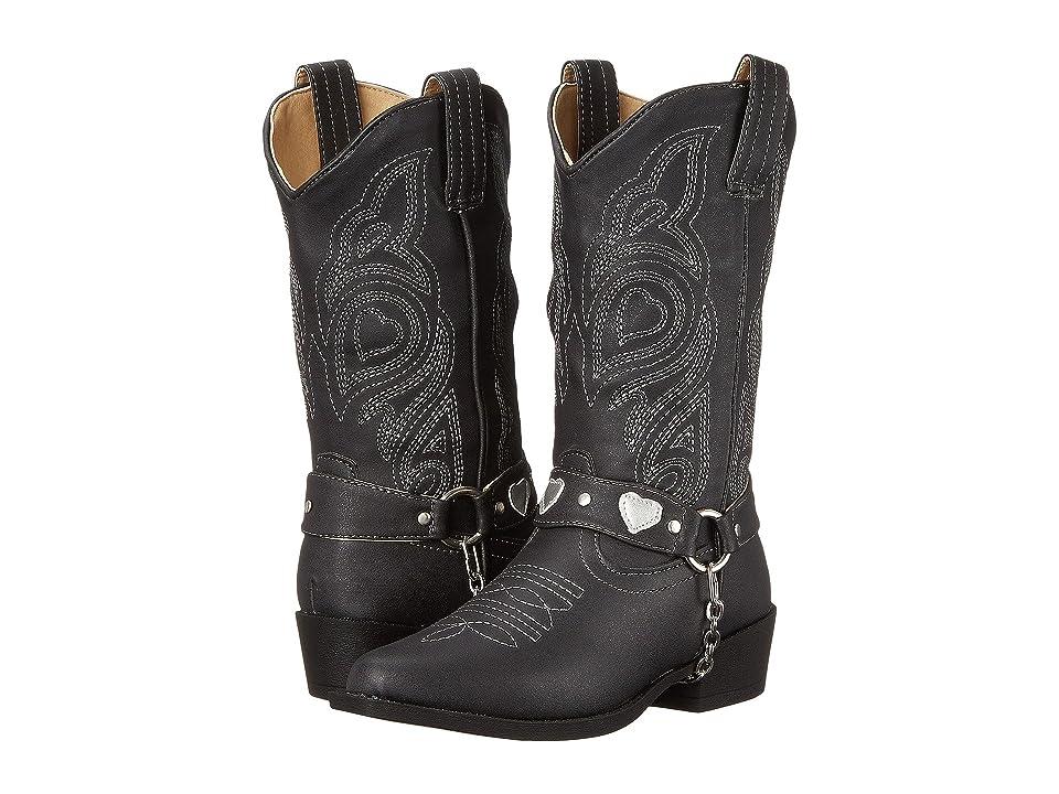 Roper Kids Dale (Toddler/Little Kid) (Black) Cowboy Boots
