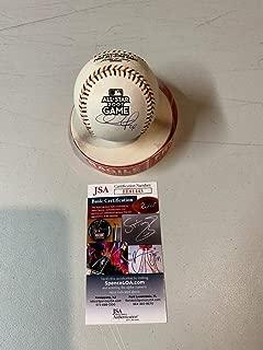 Chase Utley Autograph Autographed Signed Memorabilia 2007 All Star OMLB Major League Baseball JSA