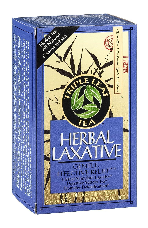 Triple Leaf Tea Herbal Laxative Kansas City Mall 20 Pack 6 New Orleans Mall Bag