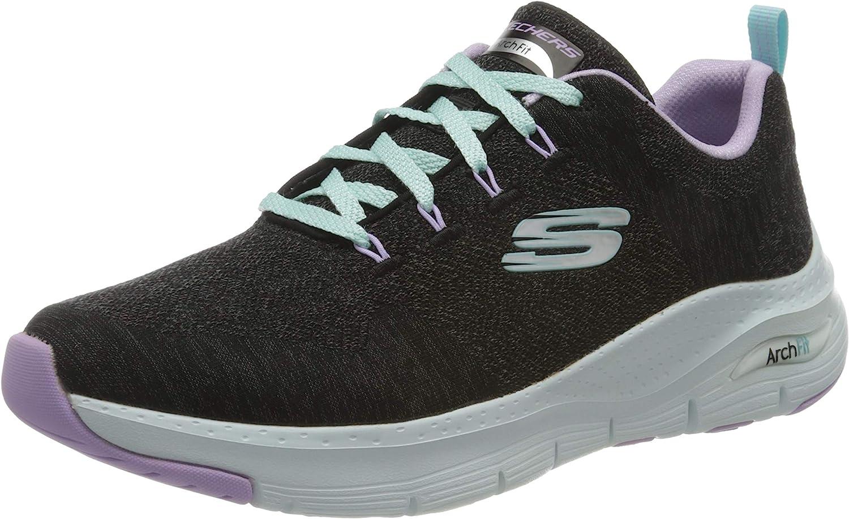 Skechers Women's Arch Fit Keep It Up Sneaker
