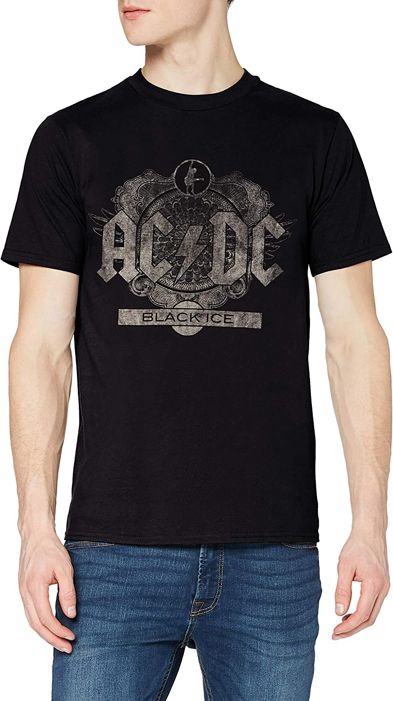 AC/DC Black Ice Camiseta para Hombre