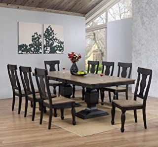 barcelona 9 pc dining set