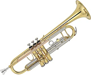 Kaizer TRP-2000LQRC 2000 Series Double Braced B Flat Bb Trumpet - Gold