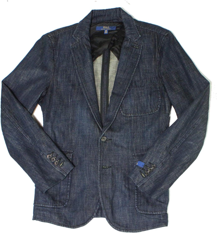 Ralph Lauren Mens Morgan Two Button Blazer Jacket