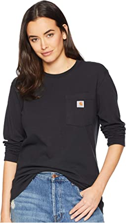 WK126 Workwear Pocket Long Sleeve T-Shirt