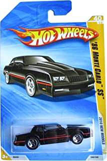 Hot Wheels 2010, '86 Monte Carlo SS. '10 New Models # 040/240. 1:64 Scale (LONG CARD VERSION) by Mattel