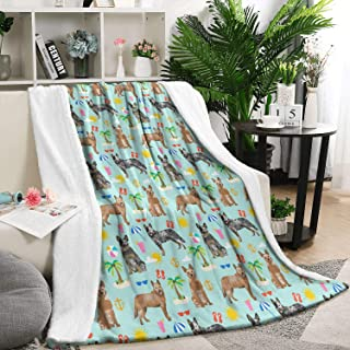 Unicorns Farting Flannel Blanket for Couch or Bed Luxury Non Shedding Lightweight Australian Cattle Dog Beach Dog Soft Blanket