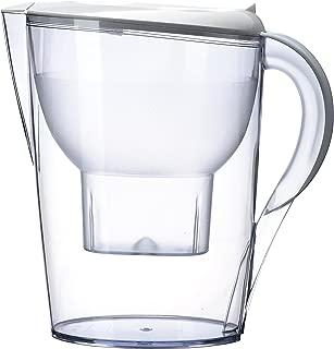 Alkaline Water Pitcher - Best for Instantly Filtered, Clean Water - 3.5 Liter Purifier & Alkalinity Filter (White)