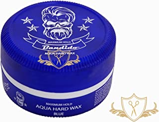 3 x bandido Hair Wax Blue pelo Wax Aqua Hard Wax