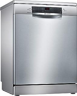 Bosch Serie 4 SMS46NI03E lavavajilla Independiente 14 cubiertos A++ - Lavavajillas (Independiente, Tamaño completo (60 cm), Acero inoxidable, Botones, 1,75 m, 1,65 m)