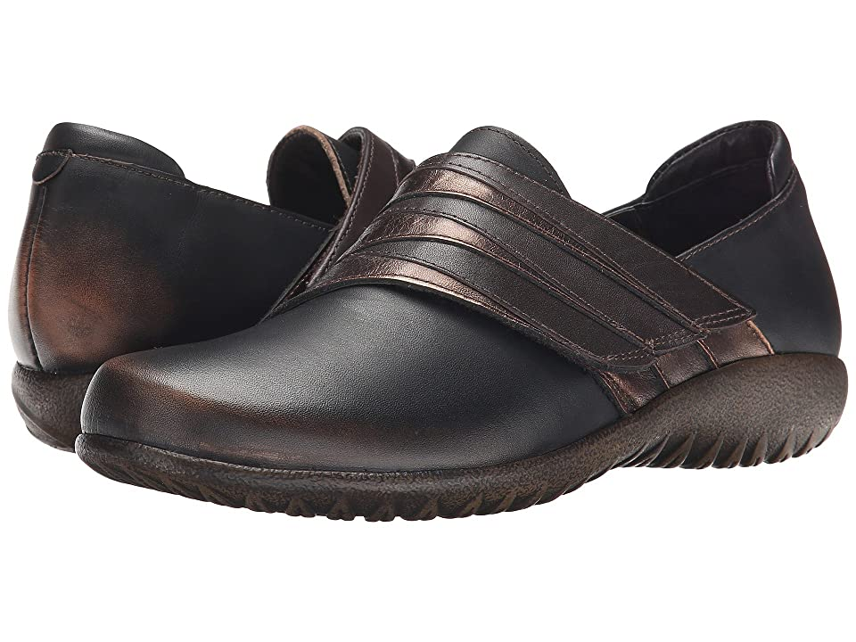 Naot Rapoka (Volcanic Brown Leather/Burnt Copper Leather/French Roast Leather) Women