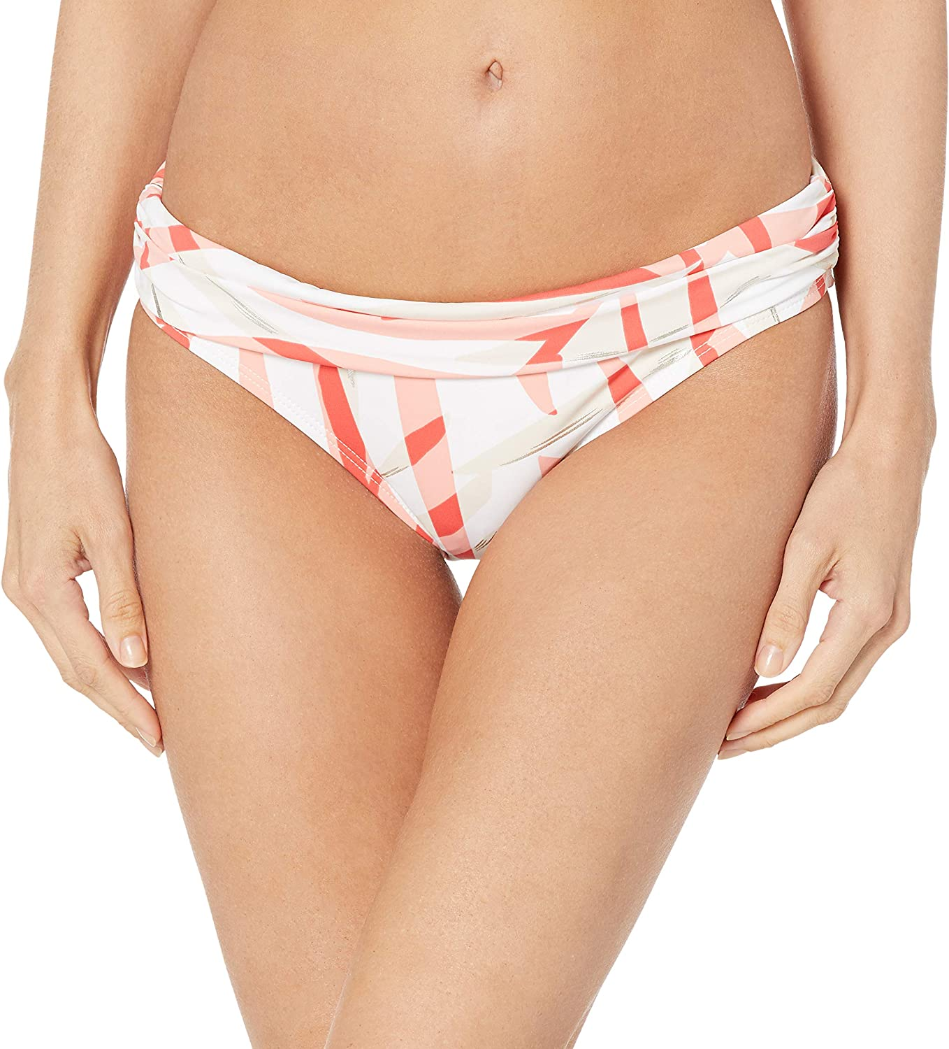 La Animer and price revision Blanca At the price of surprise Women's Shirred Band Bottom Bikini Swimsuit Hipster