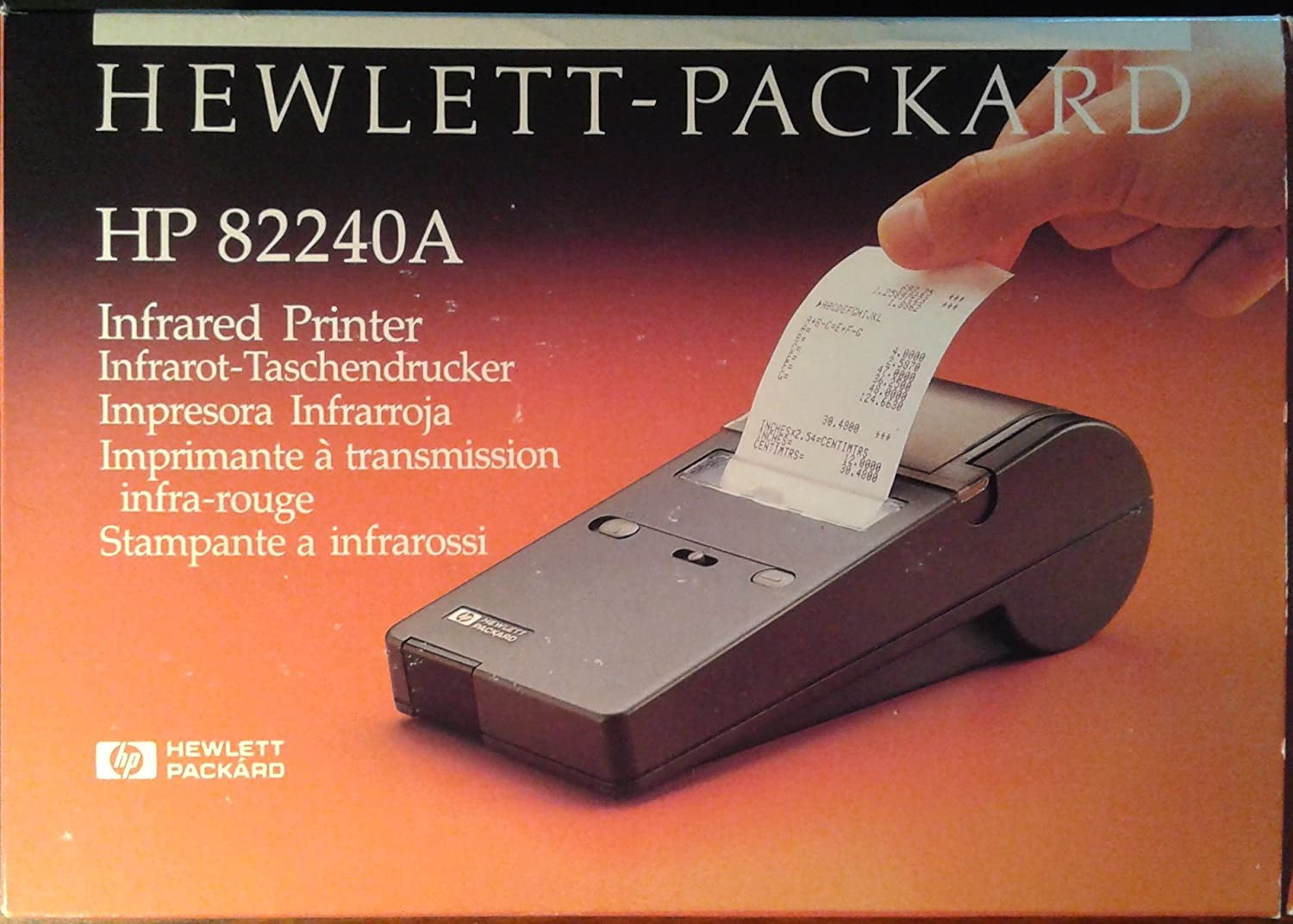 HP 82240A Infrared Printer for 48SX 48GX Engineering Calculator