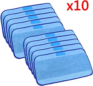VINFANY Wet Wiping Microfiber Cloths Compatible for irobot braava 321 380 320 380 t Mint 5200c 5200 4200 4205 Robot Replacement Microfiber Mopping Cloths 10 pcs/lot
