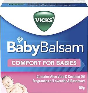 Vicks BabyBalsam Decongestant Rub, 50g