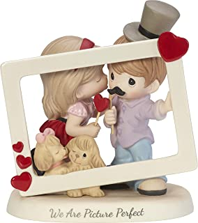 Precious Moments We Are Picture Perfect Couple With Photo Props Bisque Porcelain Figurine 182010