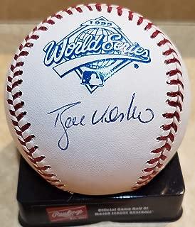 Autographed Ryan Klesko Original Major League 1995 World Series Baseball