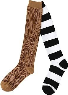 elope Knee-High Mismatched Pirate Socks