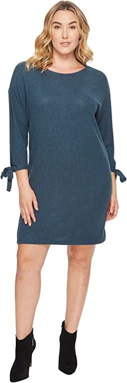 Plus Size Lanna Tie Sleeve Knit Dress