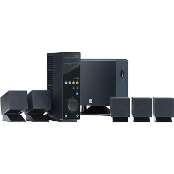 YAMAHA 5.1chホームシアターシステム ブラック TSS-20B
