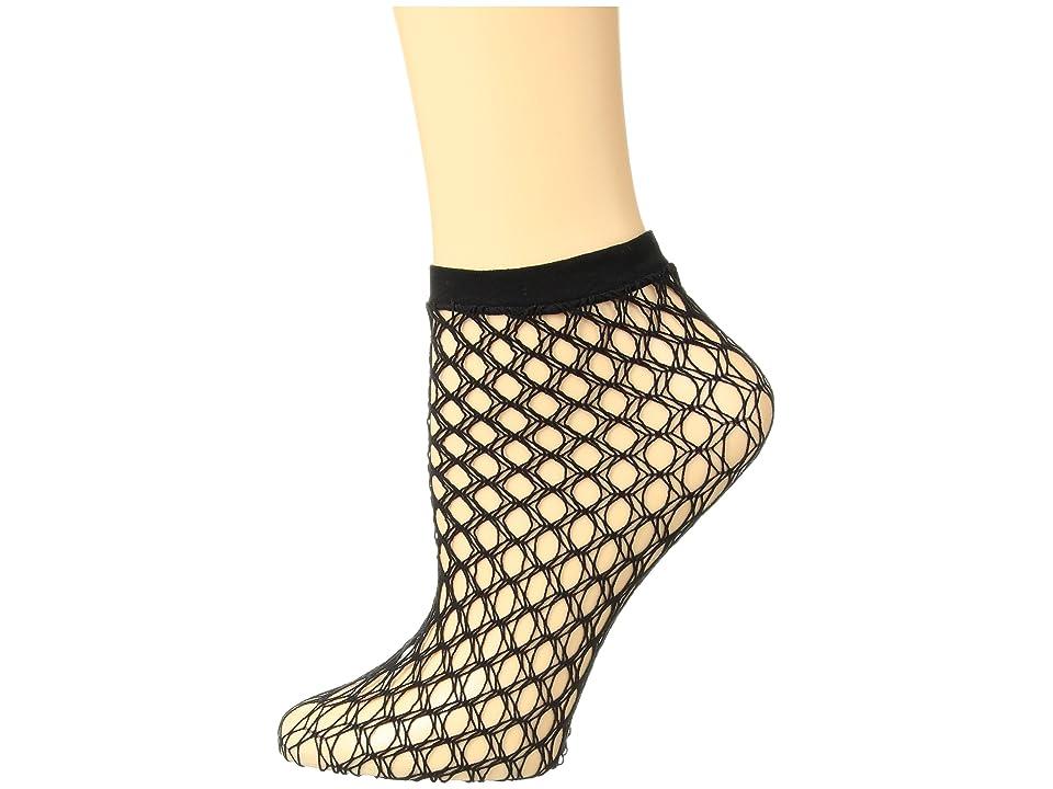 Falke Gill Net Ankle (Black) Women