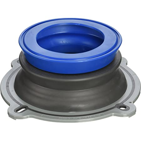 NEXT BY DANCO Perfect Seal Toilet Wax Ring   Wax-Free Toilet Seal   Toilet Installation & Repair (10718X) , Black